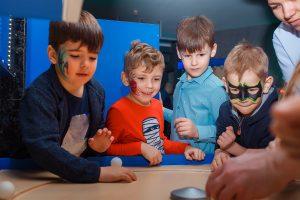 Детский день рождения в Днепр Смартзона Smartzone музей занимательной науки