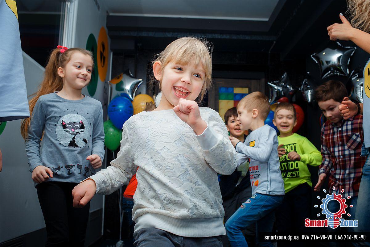Детский день рождения в SmartZone Днепр