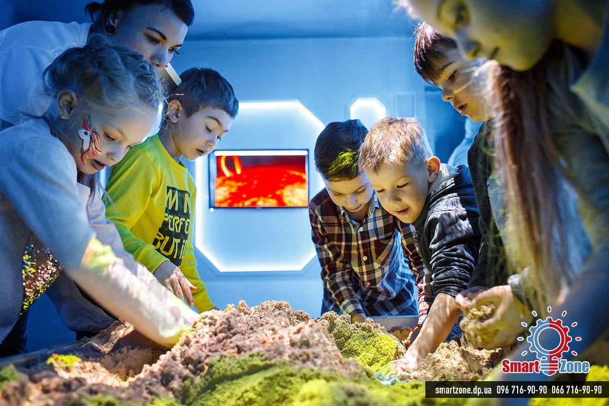 Интерактивная песочница Косомопорт Детский день рождения Днепр