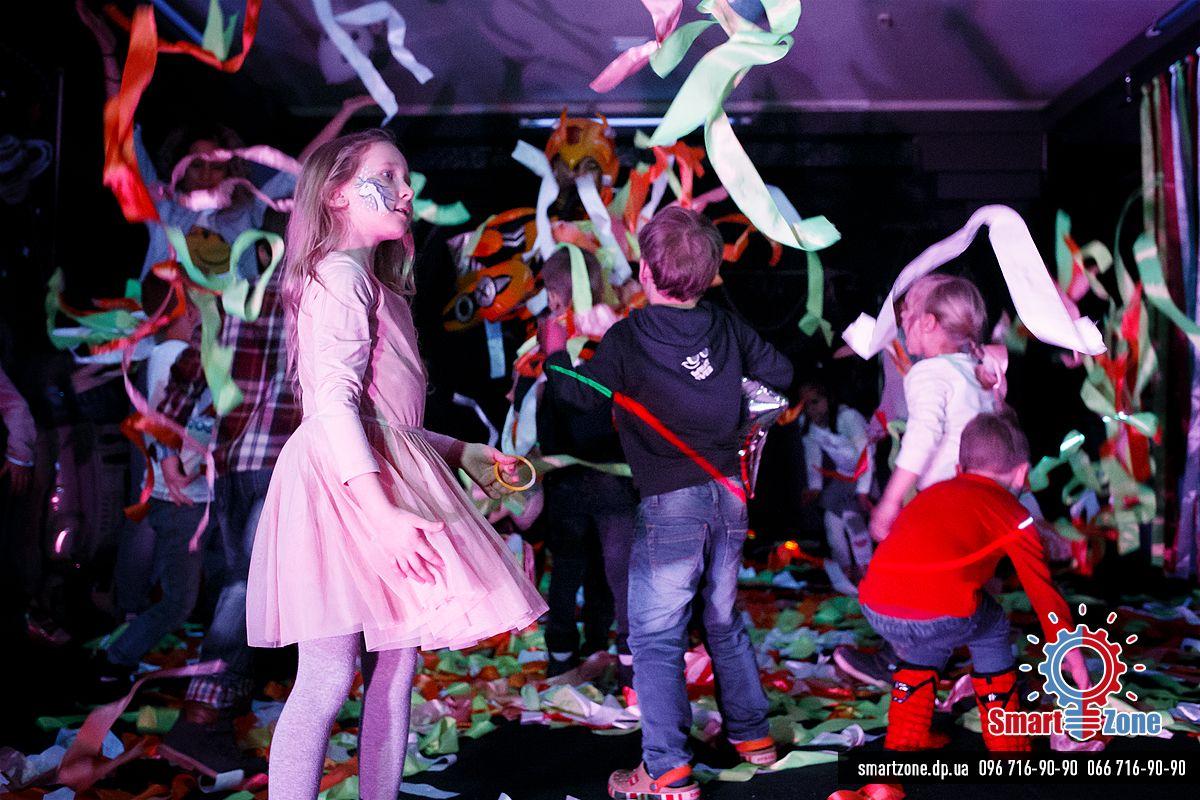 Лента-шоу, дискотека, Детский день рождения Днепр