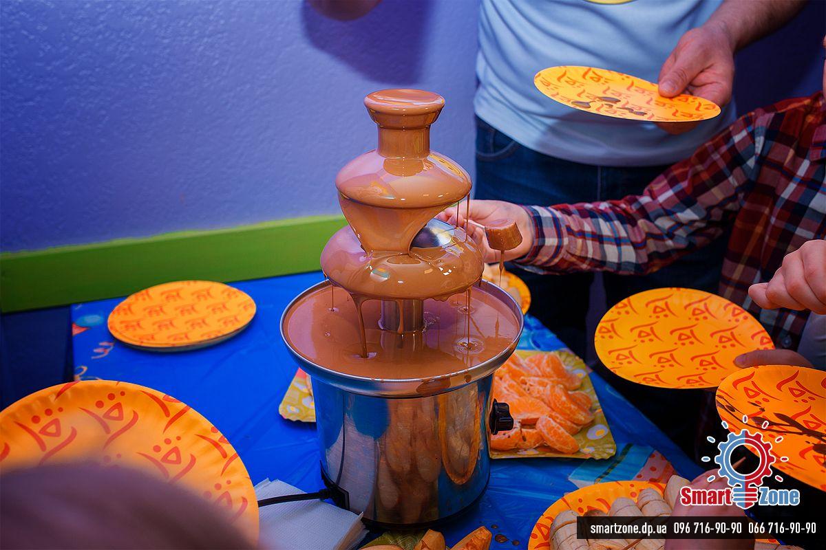 Детский день рождения Шоколадный фонтан