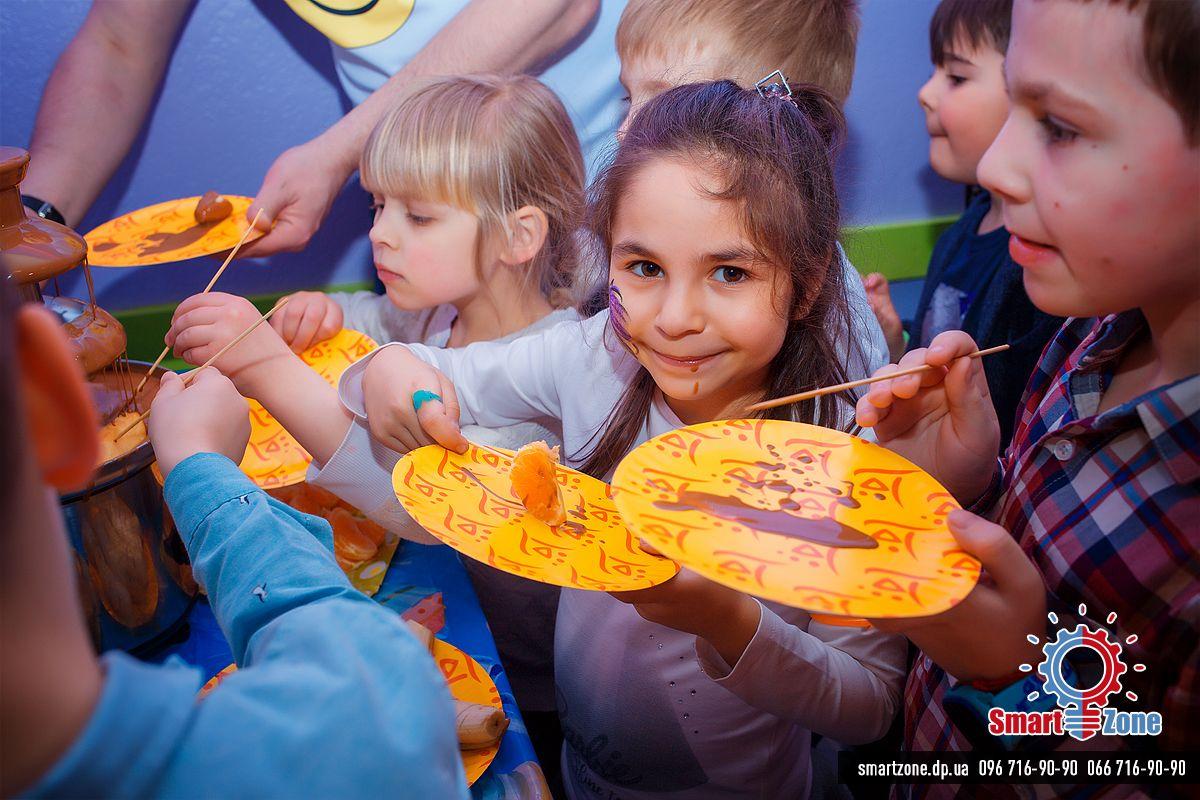 Детский день рождения Космопорт Смартзона Днепр Smartzone