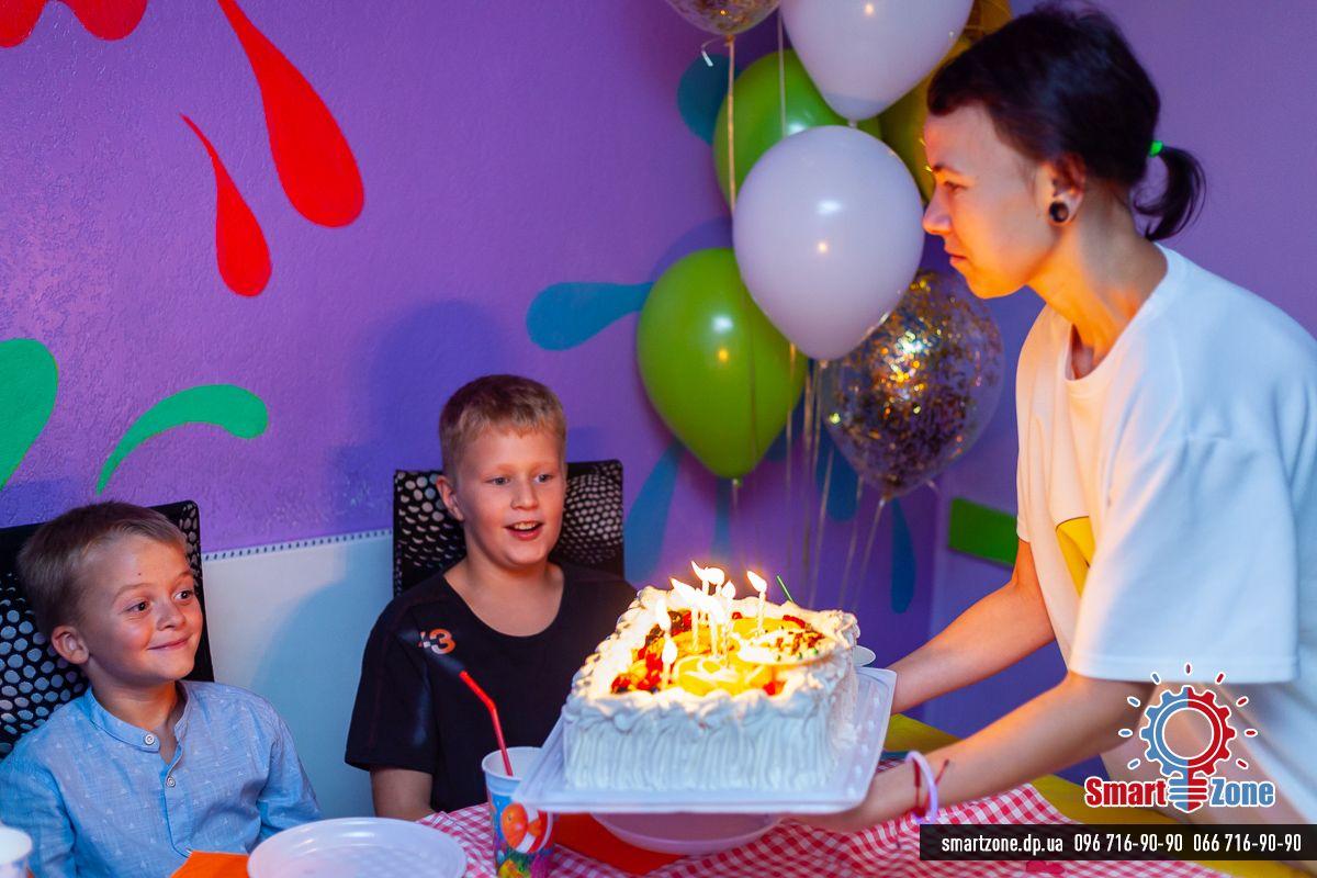 День рождения, квест, #квестмузей, космический квест, фуршетная зона