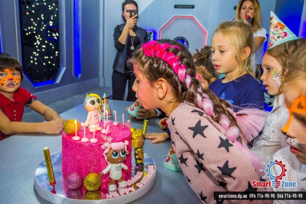 Детский день рождения, Днепр, торт